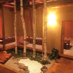 8名様用の掘りごたつ個室です。ちょっとリッチな空間に癒されながらお食事をご堪能ください!また、各宴会に合わせて北海道の幸をふんだんに使ったコースなど多数のコースをご用意しています!詳しくはメニューページをご覧ください♪