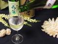 素材の個性をさらに引き立たせてくれる日本酒。料理に合わせて相性○のパートナー(お酒)をご用意