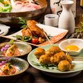 料理メニュー写真アラカルト料理も充実のラインナップ★新鮮な地鶏や海鮮料理をご賞味下さい♪