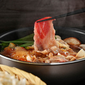 料理メニュー写真金沢大野醤油使用 だし醤油の本格派すき鍋
