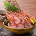料理メニュー写真■増毛産甘海老刺身