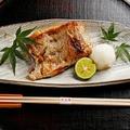 料理メニュー写真のど黒塩焼き(半身)