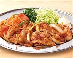 料理メニュー写真おつまみ豚生姜焼き
