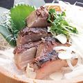 料理メニュー写真鰤の炙り塩タタキ