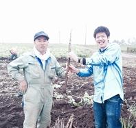こだわりの北海道農家直送野菜使用!