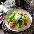 料理メニュー写真自家製リコッタチーズのCCC特製サラダ