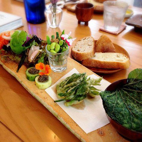 那須野菜フルコースディナー6500円(7品以上)