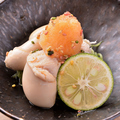 料理メニュー写真鶏白子ポン酢