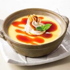 料理メニュー写真土鍋de杏仁豆腐/土鍋deカスタードプリン