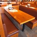 6名様向けテーブル席