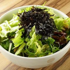 韓国のりサラダ