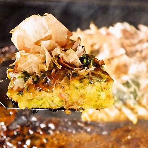 お好み焼き・もんじゃ焼き 食べ放題 本陣 2階 新宿歌舞伎町