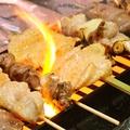 料理メニュー写真串焼6本盛り