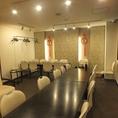 3階最大20名様まで宴会可能の個室も完備!