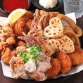 お肉やチャーハン、海鮮、揚げ物、おつまみ等!なんでも食べ放題!!食べきれる量でご注文ください♪【柏/食べ放題/飲み放題/居酒屋/個室/食べ飲み放題/誕生日】