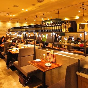 カプリカフェ CAPRI CAFE 六本木 by カプリチョーザの雰囲気1