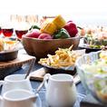 【バッカーノ貸切特典3】お料理はビュッフェスタイルで♪