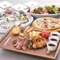 【肉 LOVEコース】料理5品+3時間室料込2280円(税込)♪