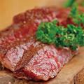 料理メニュー写真黒毛和牛リブロース ステーキ(150g)