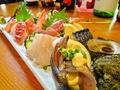 料理メニュー写真大漁地魚刺身盛合せ