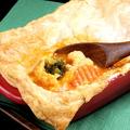 料理メニュー写真ゴロゴロ野菜のシーフードポタージュポットパイ - 合わせ味噌の香り -