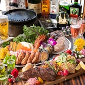 仙台で乾杯するなら当店へ♪お得なコースと、大満足の食べ放題、豊富な飲み放題など多数プランをご用意しております♪落ち着いたお席でのご案内!ラグジュアリーで落ち着いた店内は大人のお客様のためにご用意!是非自慢のお肉とともにお楽しみくださいませ♪
