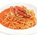 料理メニュー写真ワタリガニのトマトクリームソース