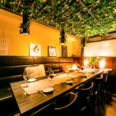 店内に足を踏み入れると大人の為の洗練されたオシャレな空間が広がります♪新宿での女子会や合コン、宴会は当店で♪