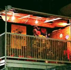 【夏季/1日1組限定/6名様~10名様】プライベートビアガーデン用の屋根付のテラス席をご用意しております♪