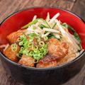 料理メニュー写真サイコロステーキ丼