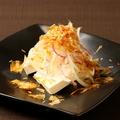 料理メニュー写真チーズのお刺身 TAKEOスタイル