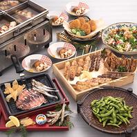【大衆和食コース】料理6品+3時間室料込1980円(税込)♪