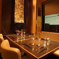 レイアウト変更も可能なお席となっております。ゆったりとお食事をお楽しみいただけます。