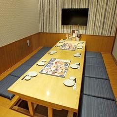 テレビ付き完全個室はご家族でのお食事やママ会などにオススメです♪他のお客さまの目が気にならないので、気兼ねなくお楽しみ頂けます。 ※画像はイメージです