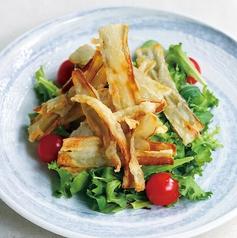 ゴボウチップスサラダ