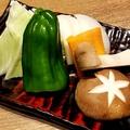 料理メニュー写真焼野菜盛り合せ