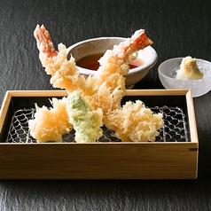 料理メニュー写真海老天 (2本)