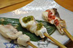 料理メニュー写真鯛 塩/しそ胡麻