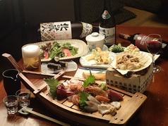 東北の地酒と魚馬肉料理 酒肴さとうのコース写真