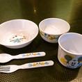 【お子様も安心です】ママ友会も大歓迎のCHESSでは小さなお子様も安心して食事が出来るよう、専用の食器をご用意しています。