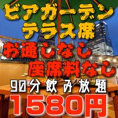 仙台ビアガーデン 朝市テラス&手ぶらBBQ マルシェマンビアガーデンの雰囲気1