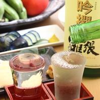 新潟の地酒が常時30種以上ご用意しております!