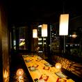 《夜景個室完備》美しい景観を一望できる夜景個室席が自慢です!《水道橋 宮崎日向地鶏と夜景個室居酒屋 炭蔵 水道橋店》