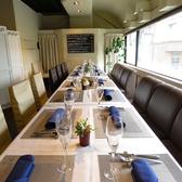 各種貸切PARTYは25~40名様迄可能!ビルの3Fに佇むオシャレな空間はレストランウェディングや2次会等、企業様の食事会や歓送迎会にも最適です。プロジェクターやマイクの無料貸し出しもご用意しております。