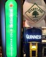 3種類のビールサーバーを完備!ギネス、ハイネケン エクストラコールド、ハートランド、どれも生で楽しむことができます★