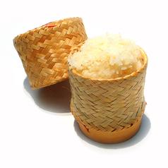 料理メニュー写真タイの蒸したもち米「カオ・ニャオ」
