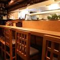 夜の居酒屋利用の方だけでなく、ランチも大変ご好評です。カウンター席もあり、お一人様でもご来店いただけます。是非一度【神田有薫】の九州郷土料理をご賞味ください。