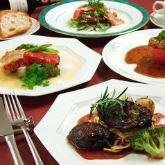レストラン いせやのコース写真