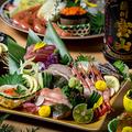 料理メニュー写真最大3時間飲み放題付料理9品-極上コース-4000円⇒4999円