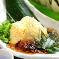 料理メニュー写真もろこし豆腐【帆立入り】